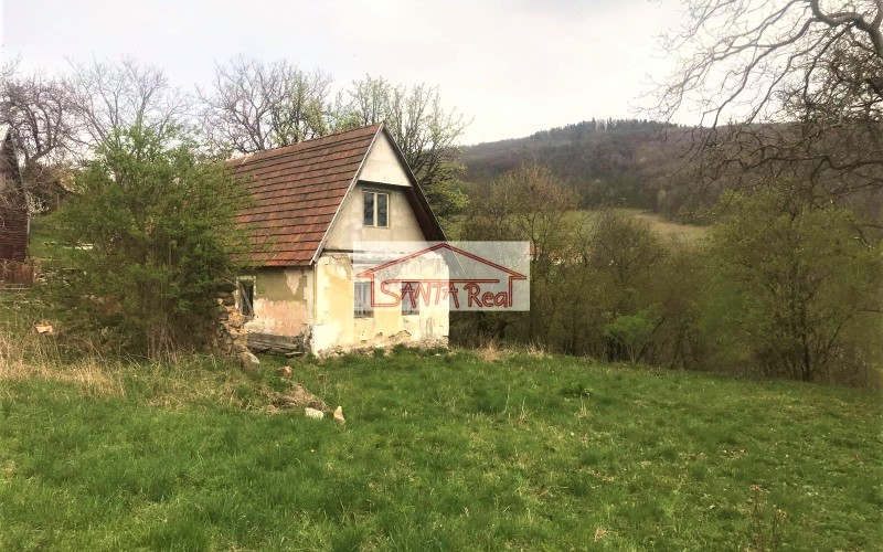 Rekreačný domček / pozemok v krásnom prostredí Hodruša - Hámre